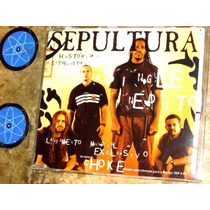Cd Single Sepultura - Choke (1998) C/ Igor ( Cavalera Cons )
