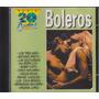 Cd Boleros - 20 Exitos - Seminovo