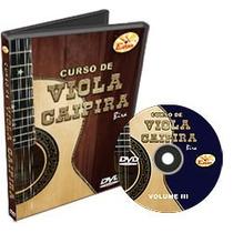 Curso De Viola Caipira Em Dvd - Volume 3 - Edon