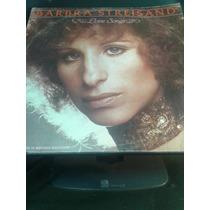 Disco Vinil Bárbara Streisand Love Songs