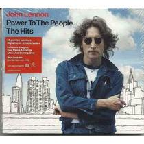 John Lennon Power To The People Yhe Hits Cd Lacrado