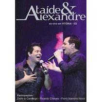 Dvd Ataíde & Alexandre - Em Vitória - 18 Faixas - Lacrado
