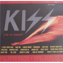 Cd Lacrado Kiss Live In Concert Ultra Rare Trax 1997