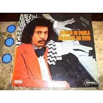 Lp Benito Di Paula - Gravado Ao Vivo (1974) C/ Grupo Tempero