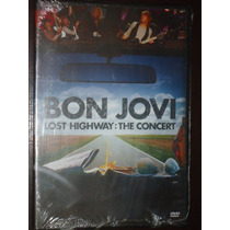 Dvd Bon Jovi Lost Highway The Concert Novo Lacrado !!!