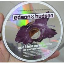 Cd Single Edson & Hudson 2001 Frete Gratis