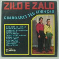 Lp Zilo E Zalo - Guardarei Teu Coração - 1968 - Rca Camden