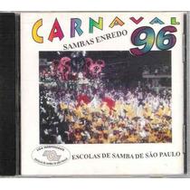 Cd Carnaval Sambas Enredo 96 São Paulo / Frete Gratis