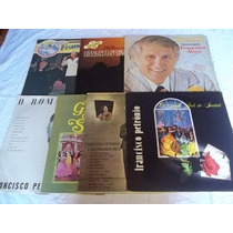 * Lote Vinil Lp - Francisco Petronio - Lote 7 Discos