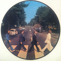 The Beatles - Abbey Road - Lp Picture Disc Novo
