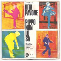 Rita Pavone-compacto-pippo Non Lo Sa-italiano-lp-vinil