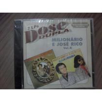 Cd Milionário E José Rico Vol.4 Produto Lacrado