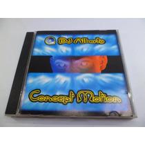 Cd Techno Concept Motion Músicas Dance Anos 90