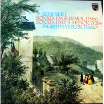 Schubert Sonata - Ingrid Haebler Disco Vinil Lp Raro Coleção