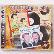 Cd Sertanejo Leôncio E Leonel Música Pitoco Querida Fingida