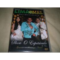 Dvd Limão Com Mel-show O Espetáculo(novo/lacrado)