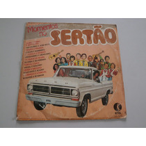 Lp Momentos Do Sertão, Vinil Coletânea Sertaneja, Ano 1980