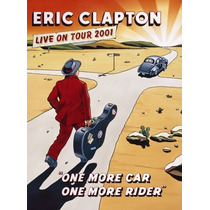 Dvd Eric Clapton - One More Car One More Rider Live On Tour