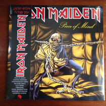 Iron Maiden - Piece Of Mind - Lp Vinil (picture Disc) 2013