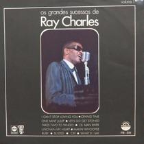 Lp Ray Charles - Os Grandes Sucessos De Ray Cha Vinil Raro