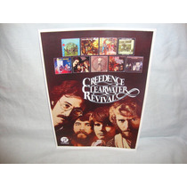 Creedence Clearwater Revival Poster Da Banda (frete Grátis)