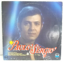 Paulo Sergio 1987 Lp Medio Estado