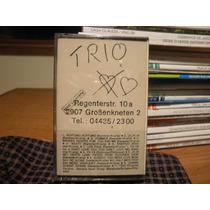 Fita K7 Cassete Trio Achtung Achtung Nova Lacrada