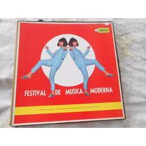 Vinil Bossa Nova Festival De Música Moderna Caixa Com 5 Lp