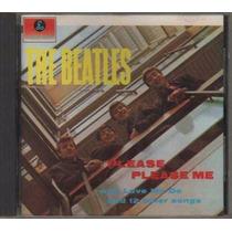 Cd The Beatles Please Please Me 1963 Importado First Press