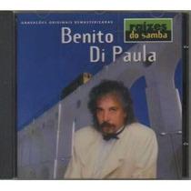 Cd Benito Di Paula - Raízes Do Samba Lacrado Frete Gratis