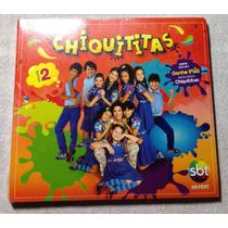 Cd Chiquititas Vol. 2 Original Lacrado Trilha Novela Sbt