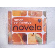 Cd Temas Sertanejos De Novelas- Lacrado De Fábrica