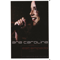 Dvd Ana Carolina Estampado Original + Frete Grátis