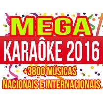 Dvd Karaoke 2016 +3800 Músics Nacionais E Internacionais