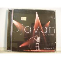 Djavan, Ao Vivo Volume 1, Cd Original Raro