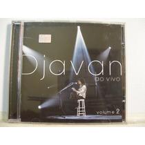 Djavan, Ao Vivo Volume 2, Cd Original Raro