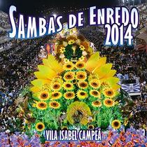 Cd - Sambas De Enredo 2014 - Escolas De Samba Do Grupo Espec