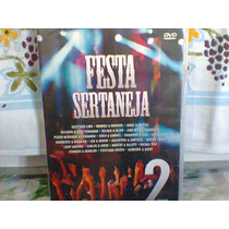 Dvd Festa Sertaneja 2 @ Coletânea (lacrado) Frete Grátis