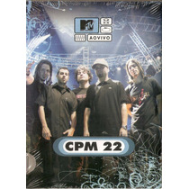Dvd Cpm 22 - Mtv Ao Vivo ( Digipack ) - Novo***
