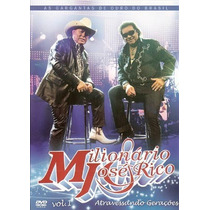 Milionário E José Rico Atravessando Gerações (dvd Lacrado)