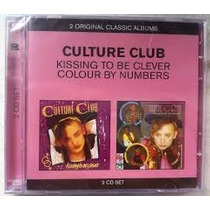 Cd Duplo Culture Club - Kissing / Colour By Numbers (novo)