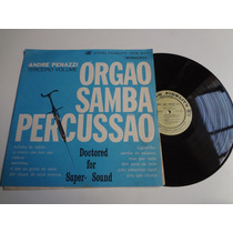 Lp Órgão ...samba...percurssão Vol. 3 Andre Penazzi