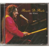 Benito Di Paula - Ao Vivo - Lacrado - Novo - O + Barato