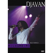 Dvd Djavan - Milagreiro Ao Vivo (2002) Lacrado Original Raro