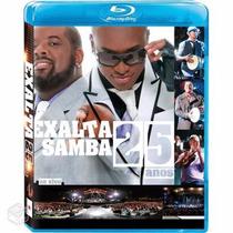 Blu-ray Exalta Samba 25 Anos Novo E Lacrado!
