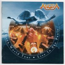 Cd Angra - Rebirth World Tour - Live In São Paulo = Duplo