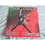 Lp The Cult / Sonic Temple / Com Encarte / Vinil