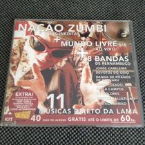 Cd Revista Trip - Nação Zumbi, Mundo Livre Sa + 8 (raro)