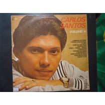 Disco Vinil Lp Carlos Santos Volume 4 ##
