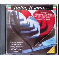 Cd Italia, Ti Amo - Nico Fidenco, Jimmy Fontana, Rita Pavone